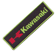 KAWASAKI MOTORCYCLE LOGO EMBROIDERED IRON ON PATCH ninja vulcan kfx 450 r versys