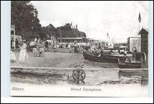 HAMBURG Reprint-AK ALTONA Strand Oevelgönne um die Jahrhundertwende Postkarte