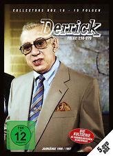 5 DVDs * DERRICK - COLLECTOR'S  BOX 18 | HORST TAPPERT - F. WEPPER  # NEU OVP !