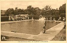 "LYME REGIS ( Dorset) : The Swimming Pool ""St Albans"" -FRITH"