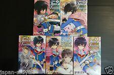 Japan manga: Tales of Destiny Director's Cut Hakanaki Toki no Leon 1~5 set