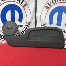 Dodge Nitro Dark Slate Gray Passenger Side Outer Seat Shield Mopar OEM