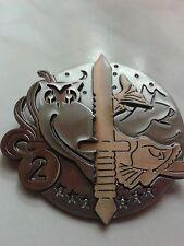 Fremdenlegion 2° REG S.R.I.O. Genie 10ème Anniversaire Abzeichen LEGION Légion