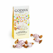 BIRTHDAY CAKE GODIVA WHITE CHOCOLATE BAG (104g) IMPOTRED FROM USA