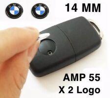 2 Logo Emblème Stickers Clé Clefs BMW 14MM série 1 3 5 6 7 X1 X3 X5 X6 M3 M5 X2