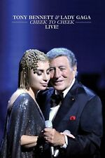Tony Bennett & Lady Gaga - Cheek To Cheek Live! DVD INTERSCOPE