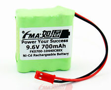 Ni-MH Rechargeable battery 9.6V 700mAh For Model toys airplane RC racing car 8SX