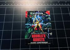 GHOULS 'N GHOSTS Sega Genesis case / box art video game vinyl decal sticker