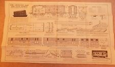 Newnes Home Mechanic 1930s Vintage Original Model Electric Locomotive Plans