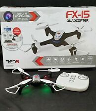 RED5 FX-15 Quadcopter Drone - HD Camera! White