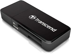 Transcend USB 3.0 / 3.1 Gen 1 Multifunktionskartenleser TS-RDF5K, schwarz