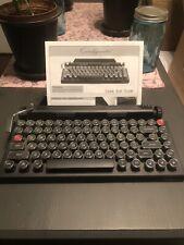 New listing Qwerkywriter Mechanical Keyboard