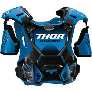 Youth Sizes Thor Guardian Roost Blue/Black Chest Protector Motocross Offroad