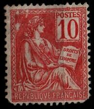 MOUCHON 10c Rouge, Neuf SG = Cote 50 €  / Lot Timbre France n°116  2nd choix