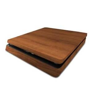 Mahogany Wood PS4 Slim Skin / PlayStation 4 Slim PS4 Slim Skin Sticker Cover