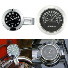 Motorcycle Clock & Thermometer For Honda VF Magna Stateline 500 700 750 1100