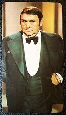 LES DAWSON   Comedian     Superb 1970's Colour Card  # Exc