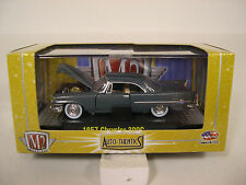 GRAY 1957 CHRYSLER 300C M2 MACHINES 1:64 SCALE DIECAST METAL MODEL CAR