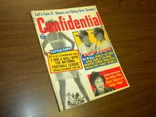 CONFIDENTIAL magazine 1962 February - movies tv politics actors sex adult