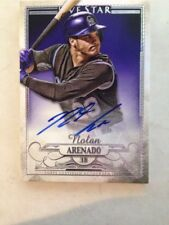 NOLAN ARENADO 2016 TOPPS FIVE STAR AUTO ON CARD CERTIFIED Autograph ROCKIES