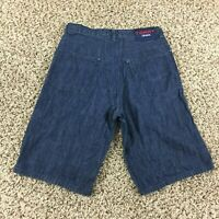 Vintage Tommy Hilfiger Jeans Shorts Men Sz 29 Blue Patch