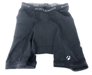 Bontrager Compression Black Padded Cycling Bike Shorts Mens Size Medium