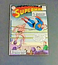 SUPERMAN #155, #165 & #175 (DC Aug. 1962) Green Sun Red Kryptonite Lex Luthor