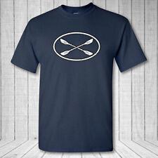 Kayakista Ovalado Camiseta - Lake Río Piragüismo Kayak Paleta Rafting Remo
