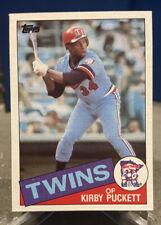 1985 Topps Kirby Puckett Minnesota Twins #536 Baseball Card Rookie Card