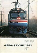 ASEA Revue 1980 / 1981 Locomotives