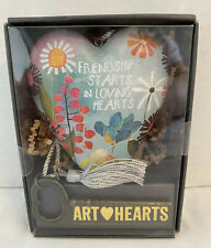 DEMDACO ART HEARTS FRIENDSHIP STARTS IN LOVING HEARTS