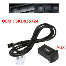 AUX USB Switch Cable For RCD510 RCD310 VW Golf/GTI/R MK5 MK6 Jetta OEM 5KD035724