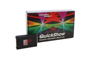 Pangolin QuickShow 4.0 FB3QS - ILDA laser software. Australian Stock, fast ship.