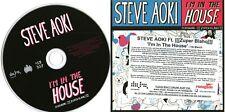 STEVE AOKI - I'm In The House - (8 Track Promo CD) - Qemists / Giggi Barocco