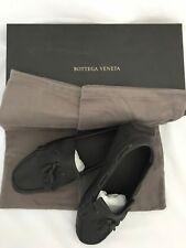 NIB $660 Bottega Veneta Mens Leather Driver Shoes Loafers Brown 8.5 US (41.5 Eu)