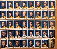 40 AK Eintracht Braunschweig Autogrammkarten 2015-16 original signiert