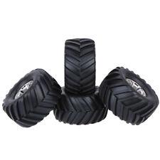 4 Stück 135mm Gummireifen Bigfoot Reifen für 1/10 RC Auto Klettern Monster