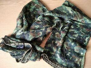 Mil-Tec Tarnschal gestrickt camouflage flecktarn Halstuch