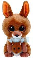 Ty Beanie Boos Regular - Kipper Brown Kangaroo Plush Toy
