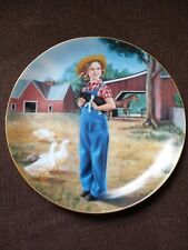 Shirley Temple Plates Limited Edition Collectables Set of 8