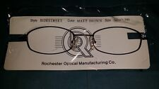 ROCHESTER OPTICAL SIDESTREET BROWN SPECTACLE EYEGLASS FRAME 50-19-140 OPTOMETRY