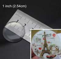 3D Circle Clear Epoxy Dome Sticker Bottle Cap Round Self Adhesive For DIY Craft
