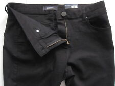 New Womens Marks & Spencer Black Jeggings Size 14 Medium With Tencel DEFECTS