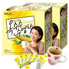 Korean Damtuh herbal Healthy Corn Silk Tea 200 Tea bags (100T x 2 Box)
