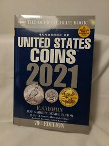 2021 Blue Book, Handbook of US Coins