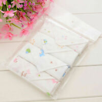 4pcs Baby Face Washers Hand Towel Cotton Wash Cloth Feeding Wipe Cloth use9gl%