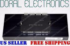 NEW STK795-813 with ALUMINUM HEAT SINK SANYO ORIGINAL Integrated Circuit IC