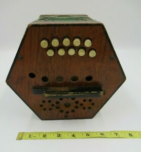 Vintage Concertina 'Magri' Made in Germany [C815]