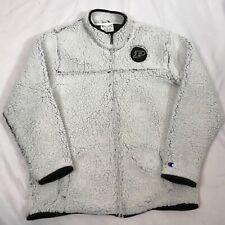 Champion Purdue University Boilermakers  Zip Jacket Sherpa sz Large