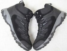 St. John's Bay Boots 13M Shoes Black & Gray Mens Choice Thirteen Medium Leather